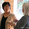 Professor Zhang talks with Franke.