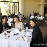Having lunch with Professor Hu Ying and Jean at UC Irvine's University Club.