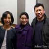 Professor Hu Ying, Li Jing, and Glenn Zhang.