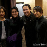 Professor Hu Ying, Li Jing, Adam and Rae.