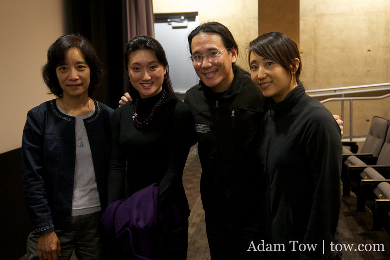 Professor Hu Ying, Li Jing, Adam and Rae.
