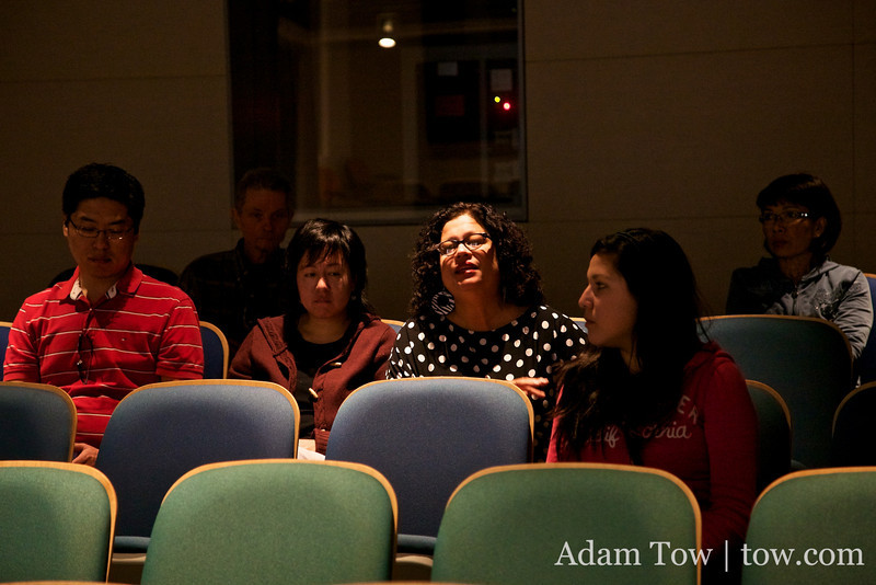 Questions and answers after the film.