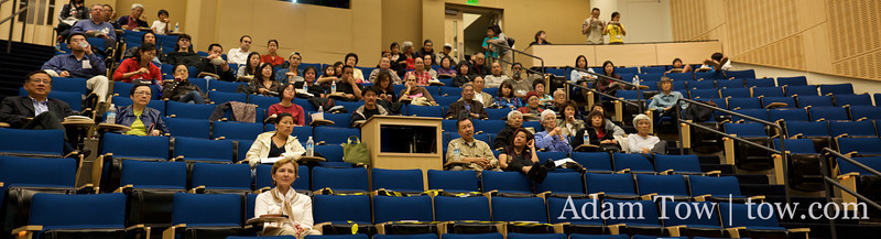 A closer look at the crowd during the Autumn Gem screening inside Cole Hall Auditorium at UCSF.