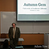 Associate Director of the USC U.S.-China Institute, Clayton Dube, introduces us at our screening of Autumn Gem at USC.
