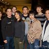 Cal Wushu members with Adam and Rae.