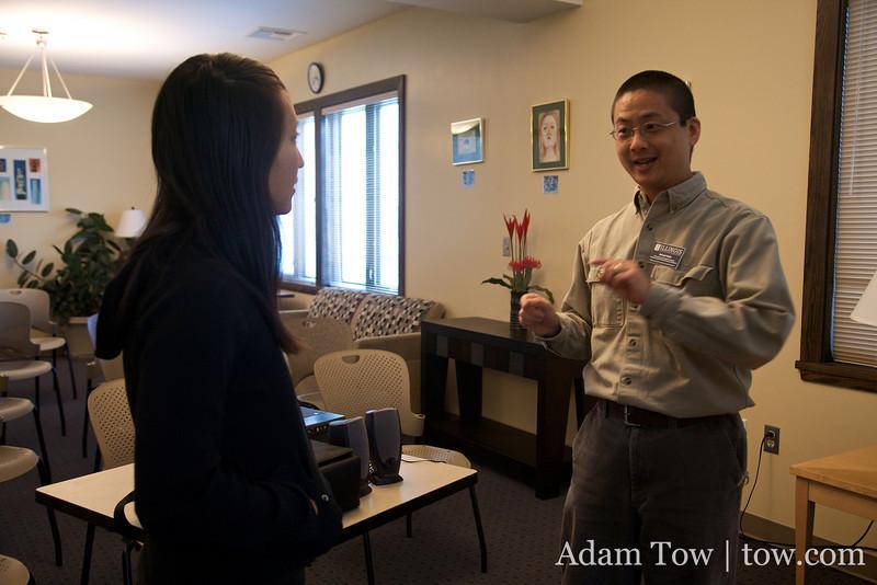 AACC Director, David Chih, talks to Rae.