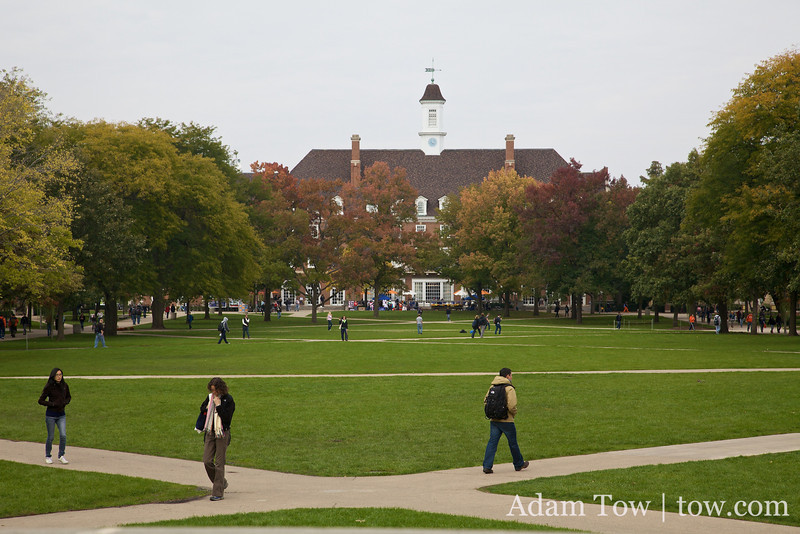 Fall is here at UIUC.
