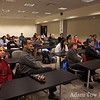 The crowd at the University of Maryland Screening.