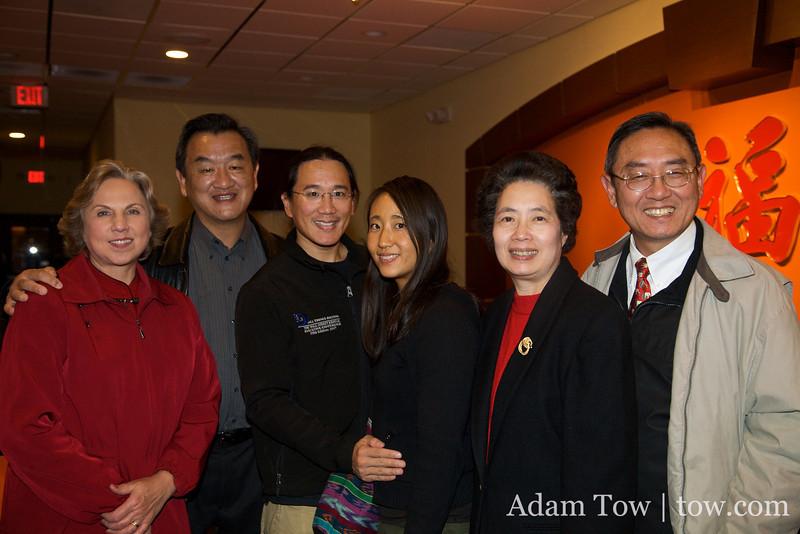 Diana, John, Adam, Rae, Mei and Joe.