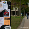 Lots of Autumn Gem flyers were seen around the UMBC campus.