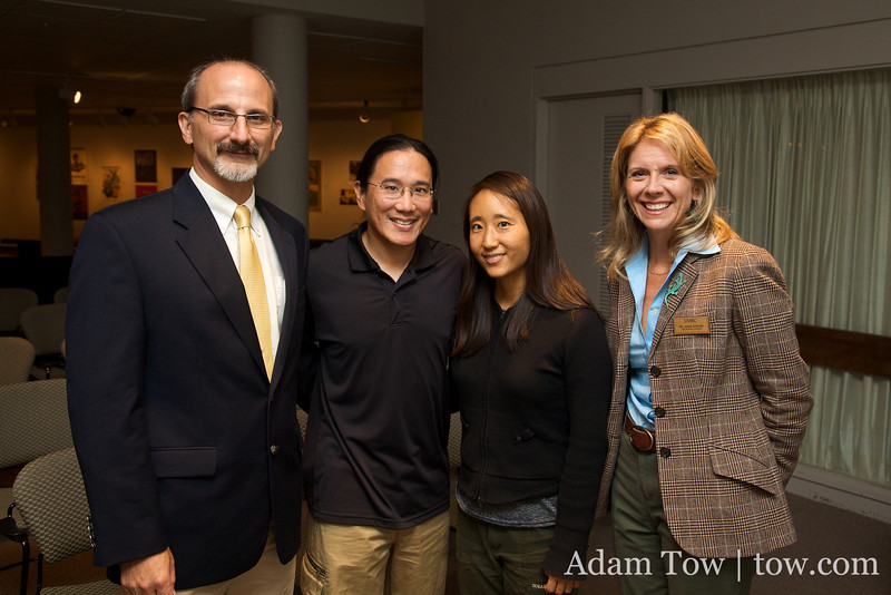 Constatine and Anna Shields with Adam and Rae.