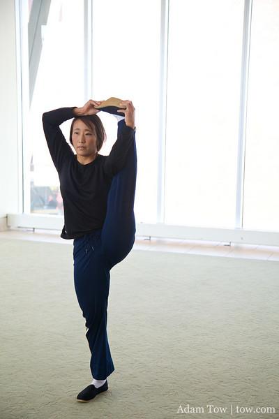 Rae is very flexible.