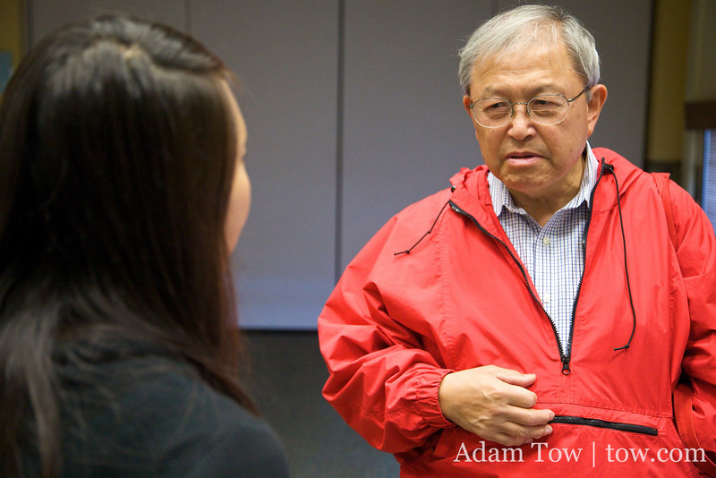 Professor John Eng-Wong talks about his next project with Rae.