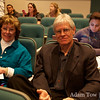 Professors from UNLV attend the screening.