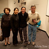 My aunt and uncle's friends from Las Vegas came to the screening.
