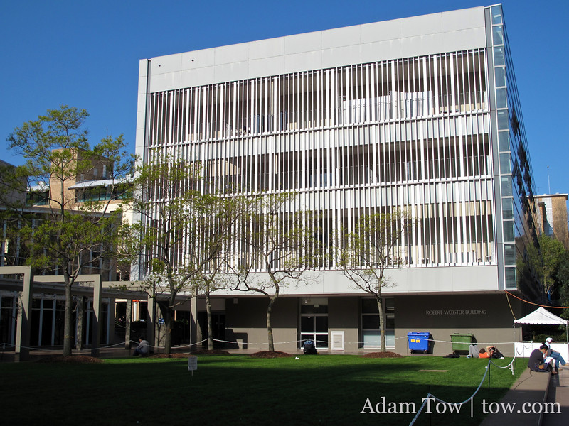 Robert Webster Building at the University of New South Wales.