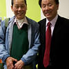 Uncle Clement with my Dad's Hong Kong classmate.