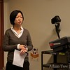 Professor Shelly Chan introduces us to our screening at the University of Victoria.