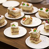 Food and drink, especially cake, always brings more people to screenings.