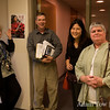 Whitewater Professors eagerly await the screening of Autumn Gem.