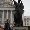 It's a Women's Memorial Statue!