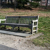 I got some work done in the morning while sitting on this bench overlooking Lake Waban at Wellesley.