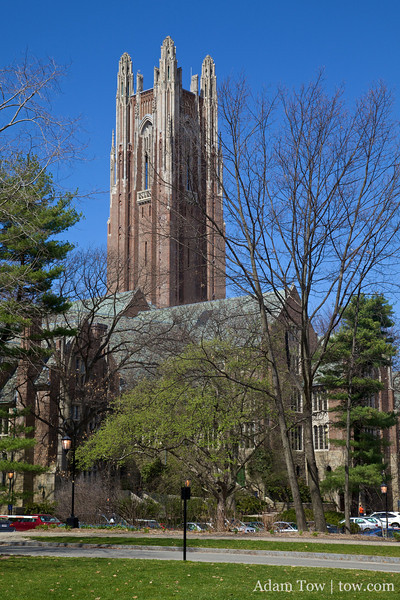 It was a beautiful day in Wellesley.