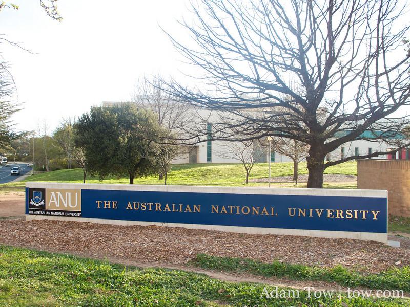 Australian National University.