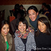 Adam and Rae with conference attendees Kalzang and Hiroko.