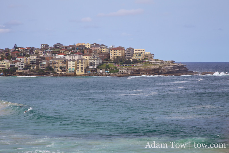 Bondi Beach also reminded me of La Jolla.