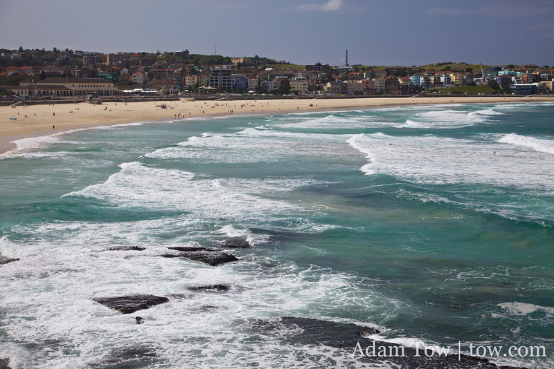 The color of the water at Bondi Beach really matched the color of the Bondi Blue iMac!