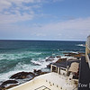 On the balcony at Bondi Icebergs overlooking Bondi Beach.