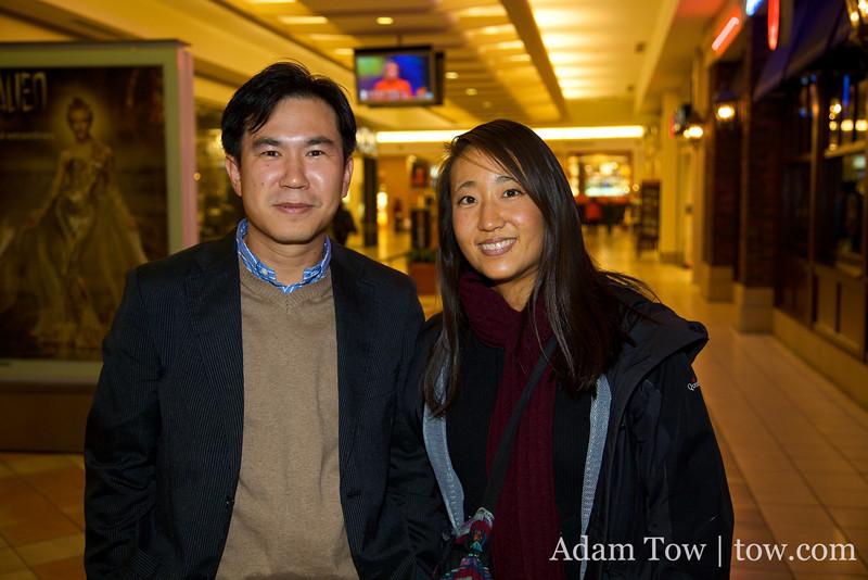 This Korean gentleman bore a striking resemblance to Rae's dad!