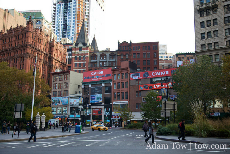 We visited J&R Camera, but the building paled in comparison to B&H.