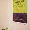 The Myer Art Prizes poster in the Macy Art Gallery.
