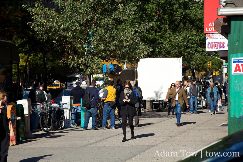 Law and Order SVU film shoot.