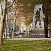 Skateboarding past memorials.g