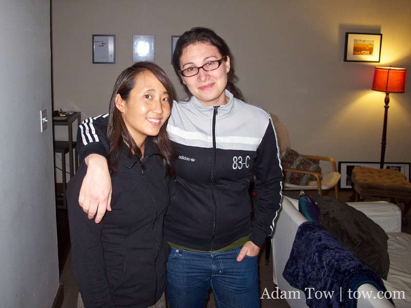 Thanks to Flo for hosting Rae while in Oregon.