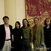 With the organizers of the UTSA screening.