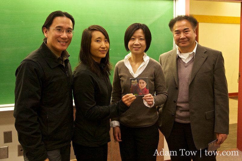 With the co-sponsors of our UVic screening.