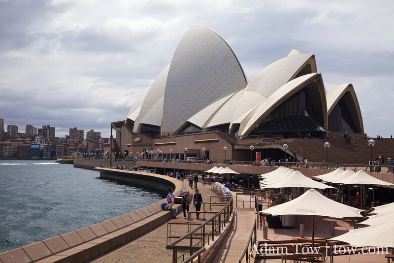 We visit the Opera House in Sydney Australia.