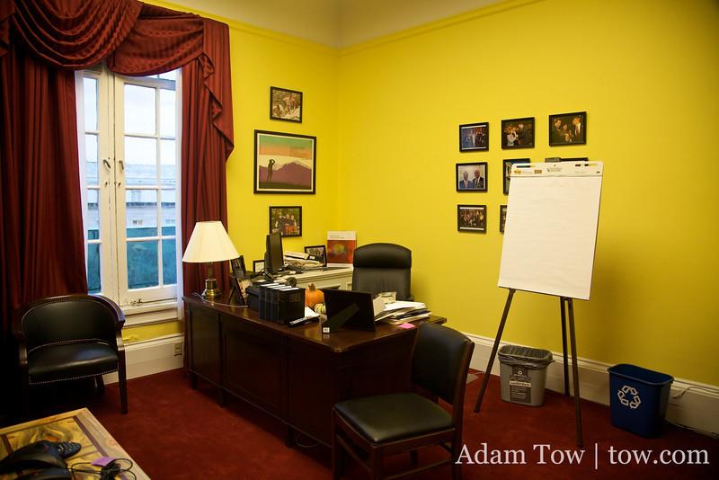 Jared Polis' office in Washington D.C.