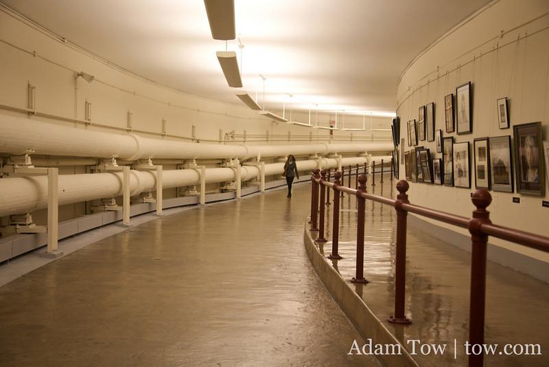 Walking through the underground passageways beneath Washington D.C.