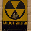 Fallout Shelter sign beneath the Capitol building.