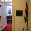 Outside the office of Congressman Jared Polis.