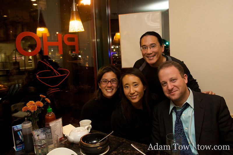 Despite our busy schedules, we were able to have dinner with our friends Alisa and Jared at Saigon Bistro in D.C.