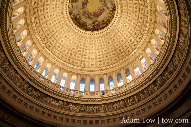 Beautiful rotunda view in our Nation's Capitol.