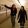 Danielle gives us the tour through the underground passageways in D.C.