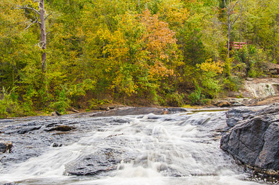 High Falls State Park in Autumn