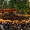 Mill Creek Bridge- Fall Panoramic